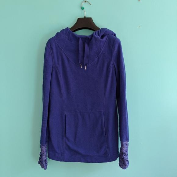 Lululemon Post Run Fleece pullover size 6 in EUC